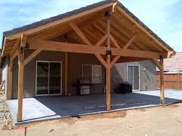 Patio Roof Designs Plans Large Open Gable Patio Cover Plans Grande Room Tips For Build