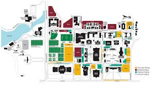 Pierce College Map Campus Map Midwestern State University
