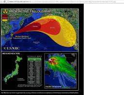 Nuclear Fallout Map by Pacific Ocean Catastrophe Confirmed Fukushima Mega Nuclear