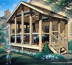 porch blueprints screened in porch plans to build or modify