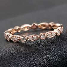 scalloped wedding band vvs1 morganite engagement ring with from thisislogr on etsy