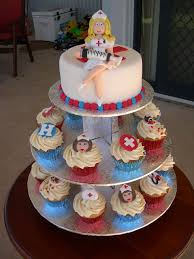 naughty nurse cake cupcakes toppers can be ordered directl u2026 flickr