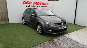 used volkswagen polo grey for sale motors co uk