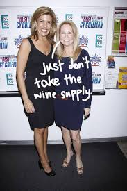 kathie lee gifford better like solo wine sessions because hoda