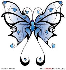 26 best girly butterfly drawings images on