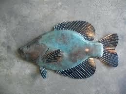 fish wall painted wood fish wall bearister me