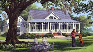 one or two story craftsman house plan country farmhouse plans