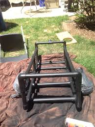 Diy Pvc Patio Furniture - diy cheap beach tailgate fishing cart diy