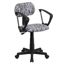 Black And White Zebra Bedrooms Furniture Unique Black And White Zebra Computer Swivel Chair