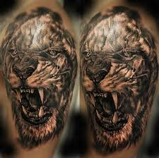 lion tattoo by rakhee shah tattoonow