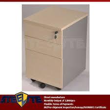 Under Desk Storage Drawers by Under Desk Beige Small 3 Drawer Movable Pedestal Cabinet Suppliers