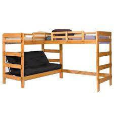Bunk Bed L Shape Chelsea Home L Shaped Bunk Bed Birch
