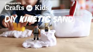 diy kinetic sand crafts for kids pbs parents youtube