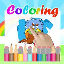 cartoon coloring kids game for wander over yonder