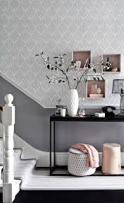 wallpaper designs for home interiors 8 standout hallway decorating ideas stylish storage and wallpaper