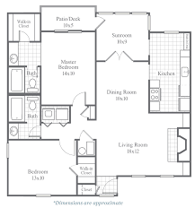 10x10 Kitchen Floor Plans by Classic Floor Plans Calibre Woods