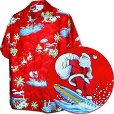 christmas shirts men s christmas hawaiian shirts