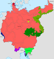 Germany On Map by Maps On The Web Photo Goralic Pinterest History European