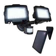 nature power dual 120 led solar security light
