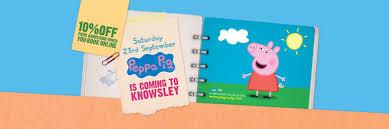 Peppa Pig 2017 Book Knowsley Safari