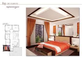 sketchup drawing 3 bedroom modern villa design size 11 5x21 1m