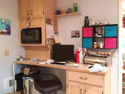 Home Office Desks With Storage by Small Black Home Office Desk In The Corner Room With Bookshelf And