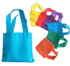 6 mini non woven tote bag with fabric handles promotional mini
