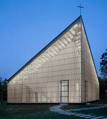 Steve Bayer Architecture Engineering S Churches Gallery Big by Chapel By Azl Architects Features A Butterfly Roof Nanjing Semi