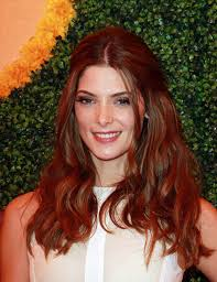 ashley greene with beautiful ombre ashley greene sports a fiery new mane stylenoted better off red