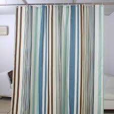 Aqua Blue Shower Curtains Striped High End Light Blue Shower Curtain Buy Blue Waterproof