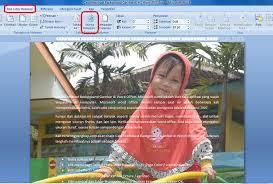 rumus membuat latar belakang cara membuat background gambar di ms word office