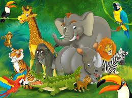 Safari Wall Murals Wild Animals Cartoon Images Animals Pinterest Cartoon Images