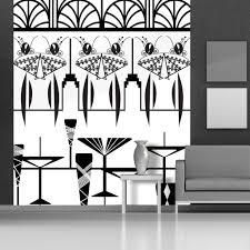 art deco wallpaper murals shilou furniture art deco mural manhattan ladies