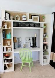 Built In Bookshelves With Desk by How To Build Your Own