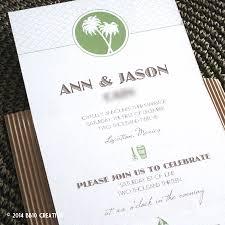 tropical themed wedding invitations modern wedding invitations creative insights