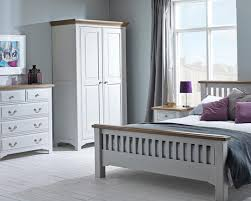 apply grey bedroom furniture for calming minimalistic style