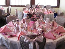 Baby Shower Table Ideas Baby Shower Table Decoration Ideas In Simple Pink Baby Shower
