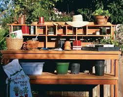Gardening Table 15 Free Potting Bench Plans