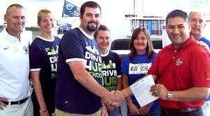 bull valley ford bull valley ford raises funds for blue streaks northwest herald