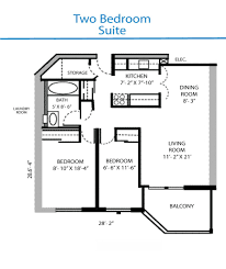 simple two bedroom house plans open neutral apartment floor with