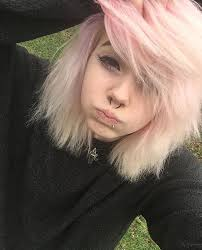 hairstyles for ladies who are 57 1 57 pm emelyjette hair pinterest emo piercings and hair