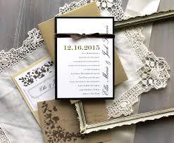 champagne dream rustic elegance wedding invitations ivory