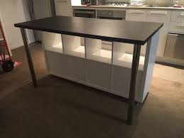 Ilot De Cuisine Style Ikea Pas Cher Küche Wohnung Gestalten Und Kallax Bureau