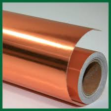 wrapping paper copper 2x10m rolls wl coller ltd