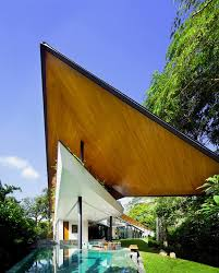 Modern Traditional House Modern House Developed From The Concept Of Traditional Malay