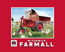 amazon com international harvester mccormick farmall fleece