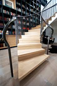 designs that prove staircases and bookshelves make a great duo