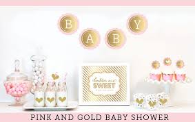 pink and gold baby shower ideas pink and gold baby shower decor unique baby shower ideas