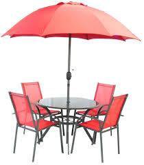 Aluminium Garden Chairs Uk Royalcraft Vito Red Aluminium Garden Furniture Set Stacking