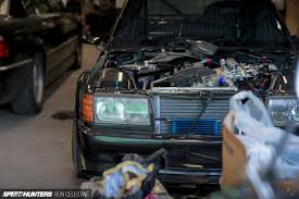 realizing a 190e racing dream speedhunters